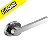 Swirl Ovali Cistern Lever Chrome Effect 130 x 37.5 x 194.2mm